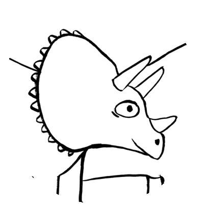 vignette coloriage dinosaures