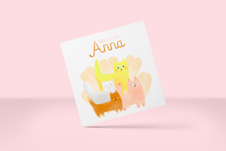Faire-part Anna