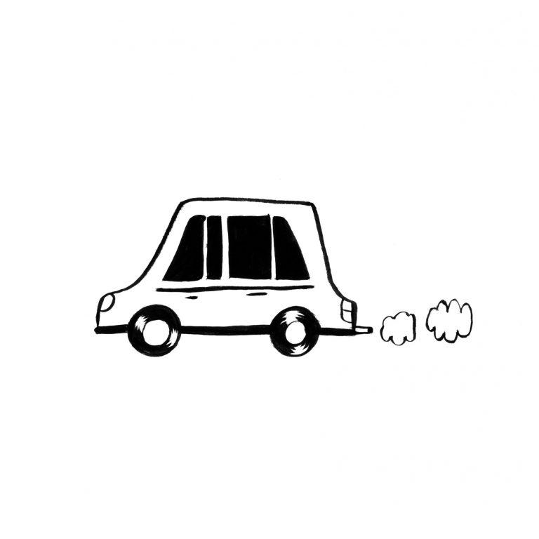 dessin de voiture pour coloriage